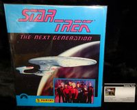 Star Trek The Next Generation: Panini Sticker Collection - Complete in Album